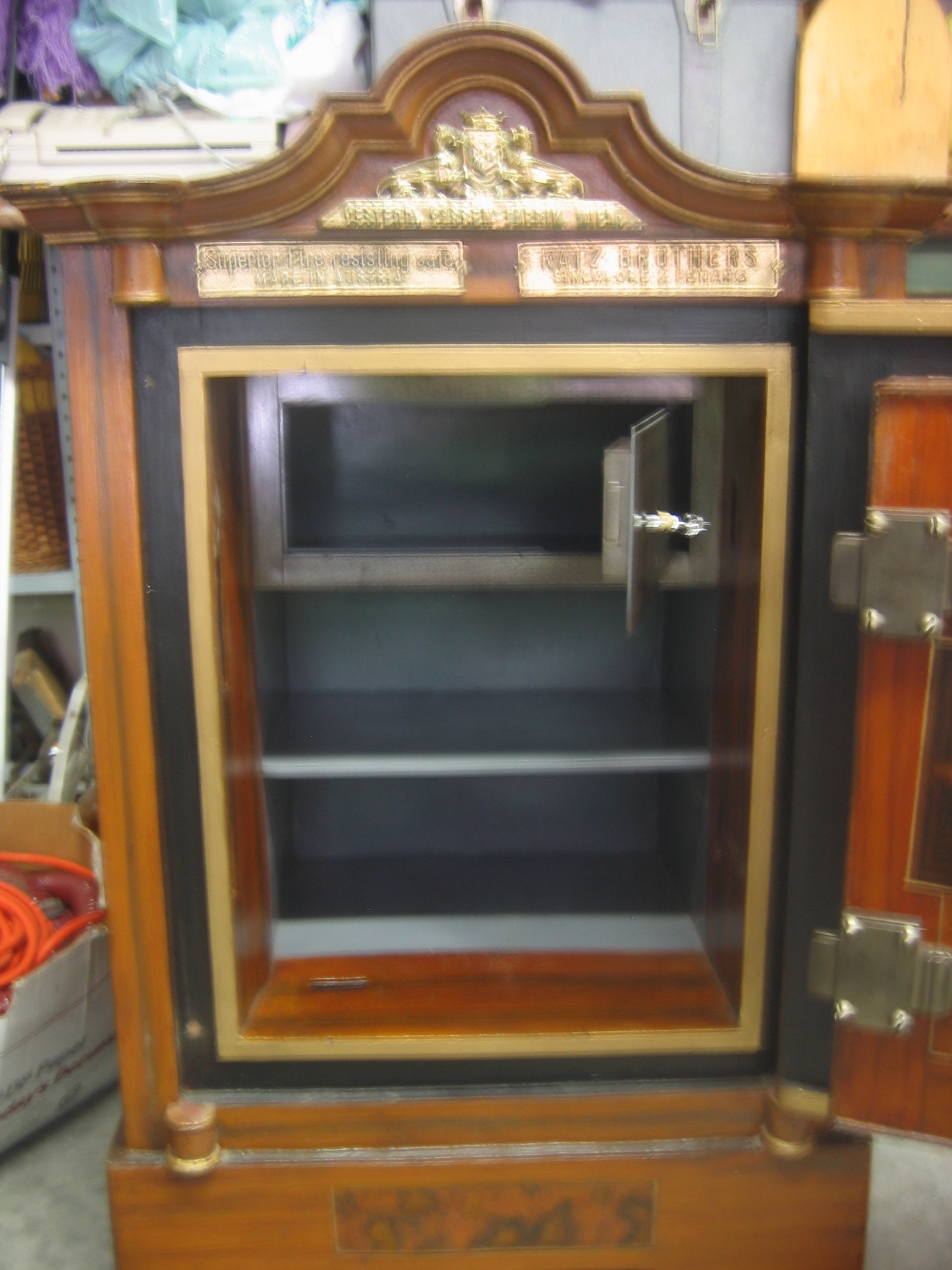 Unusual And Rare- Antique Safe For Sale